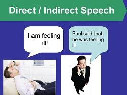Прямая и косвенная речь