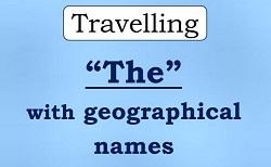 The Articlesс географическими названиями
