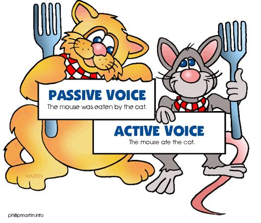 Passive Voice and Active Voice