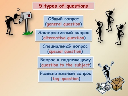 5 types of questions