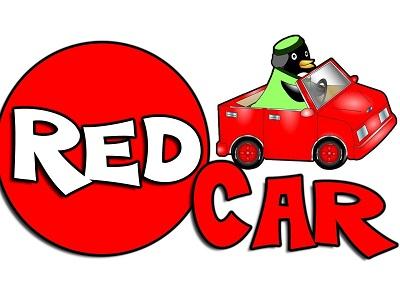 Изображение красной машины