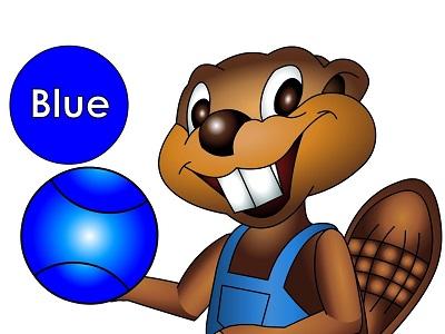 Изображение синего мяча