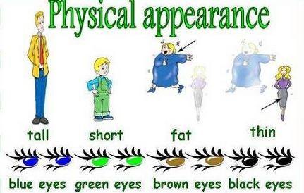 Описание внешнего вида человека