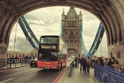 Изображение Тауэрского моста в Лондоне