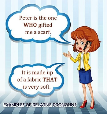 Examples of Relative Pronouns
