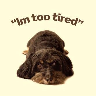 Я очень устал