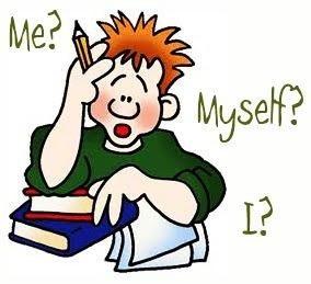 Me? Myself? I?