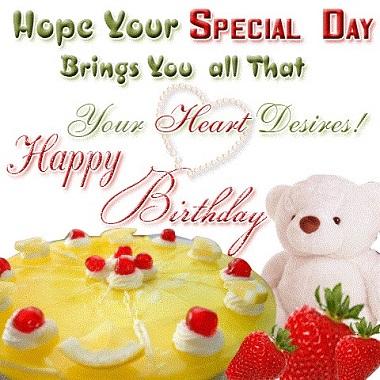 Пожелание на день рождения