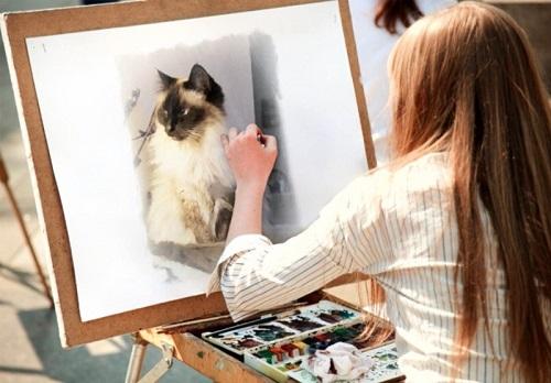 Процесс рисования