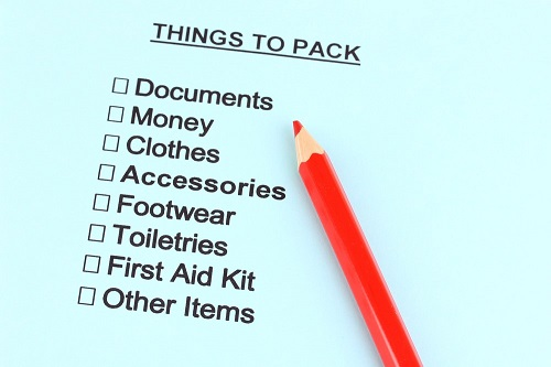Things to Pack