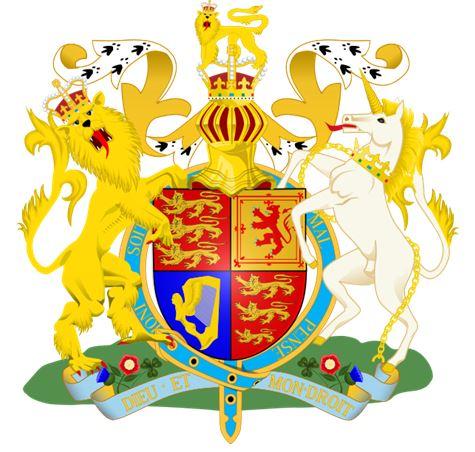 Королевский герб Великобритании