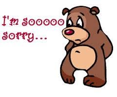 I'm sooooo sorry...