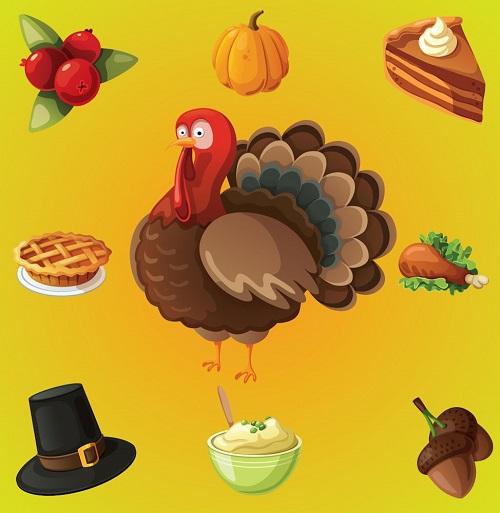 Символы Дня благодарения