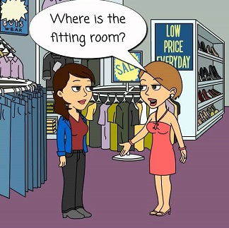 Where is the fitting room?