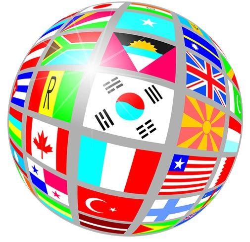 Земной шар и страны