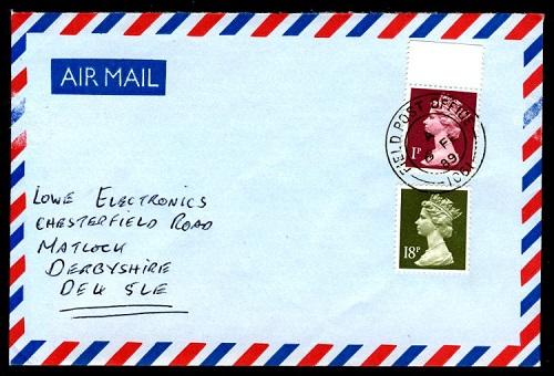 Пример правильного написания адреса в Великобритании