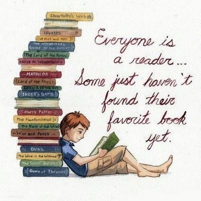 Everyone is a reader...