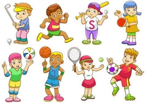 Какие виды спорта изображены на картинке?