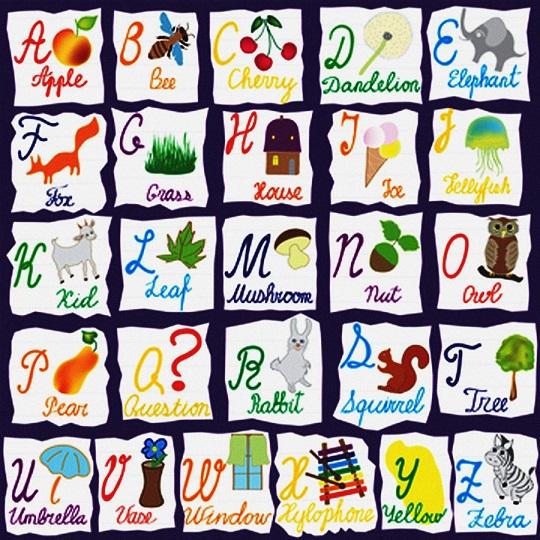 Алфавит с картинками