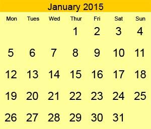 Сокращения дней недели