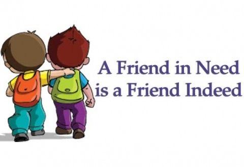 Пословица про дружбу на английском